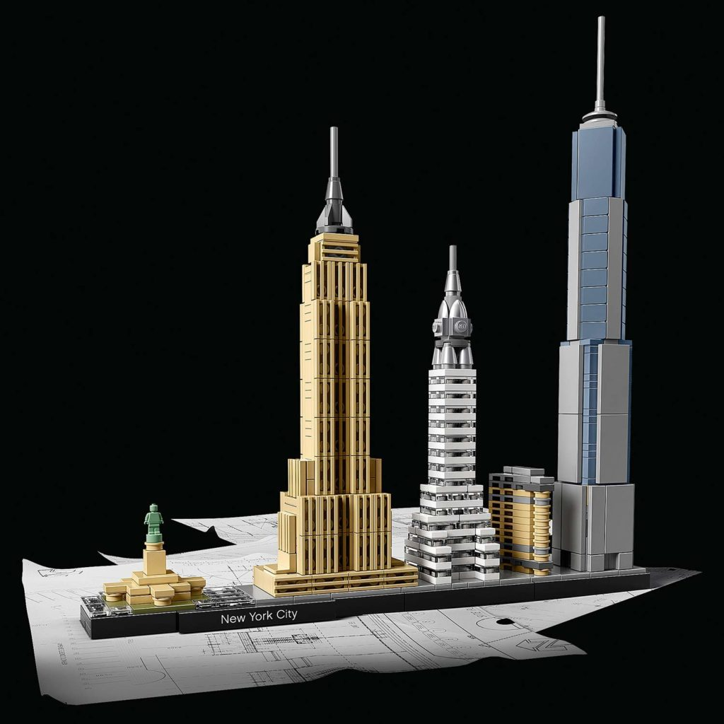 LEGO - New York City Skyline Set für Erwachsene
