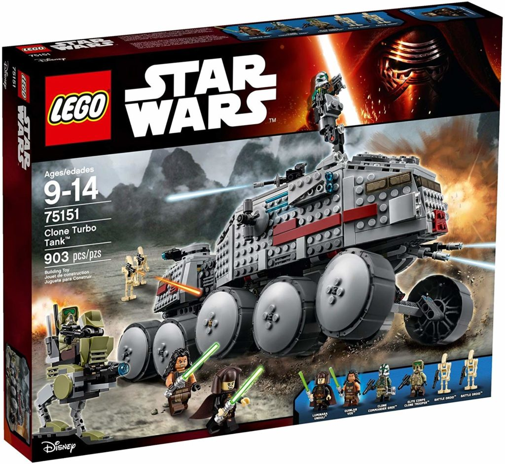 LEGO Star Wars 75151 - Clone Turbo Tank