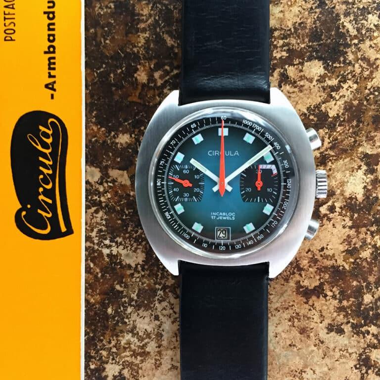 Vintage Uhr von deutscher Uhrenmarke Circula