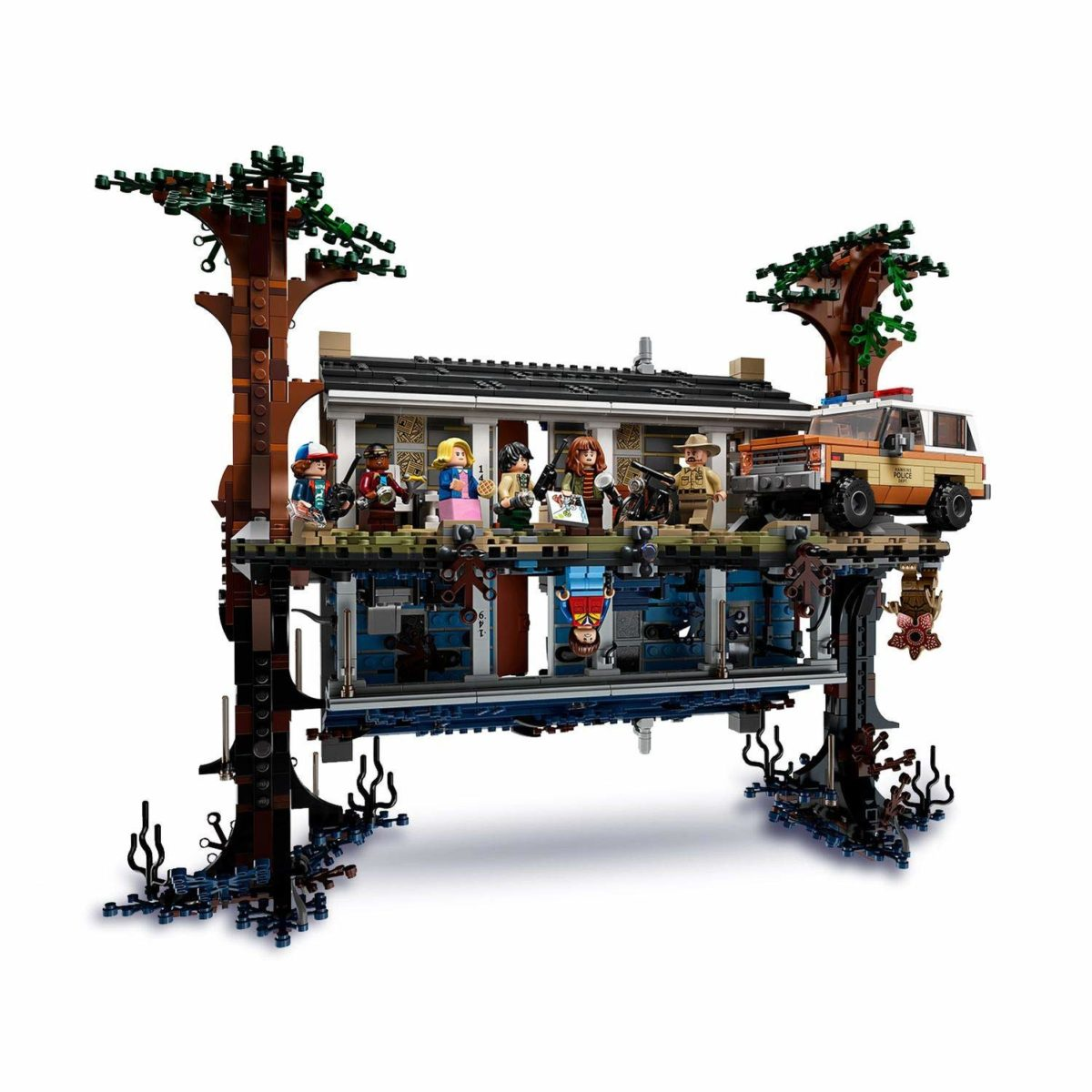 Lego stranger Things upside down